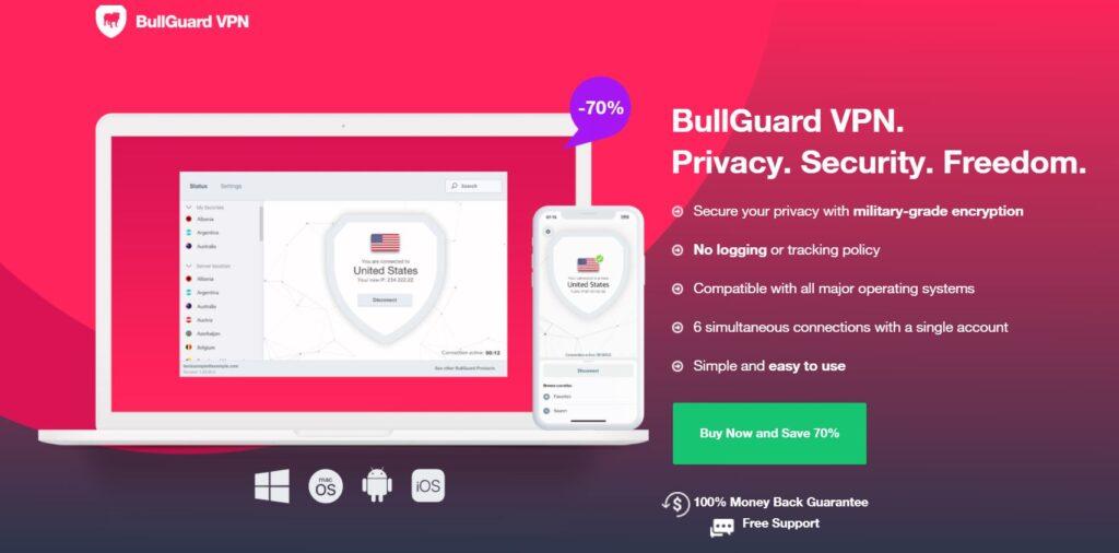 Bullguard VPN Introduction
