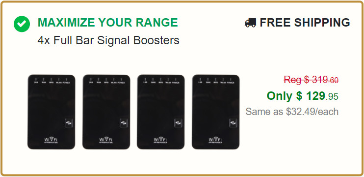 Full Bar Signal Wi-Fi Booster