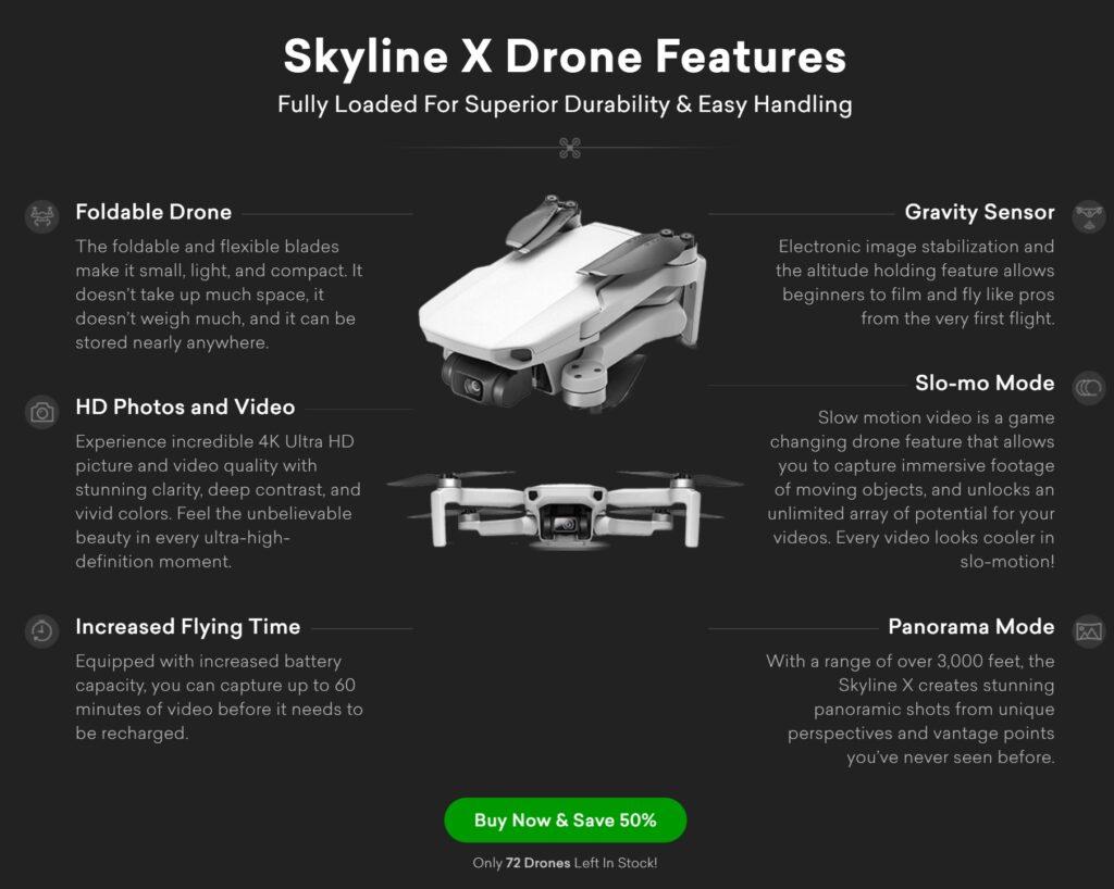 Skyline X Drone 3