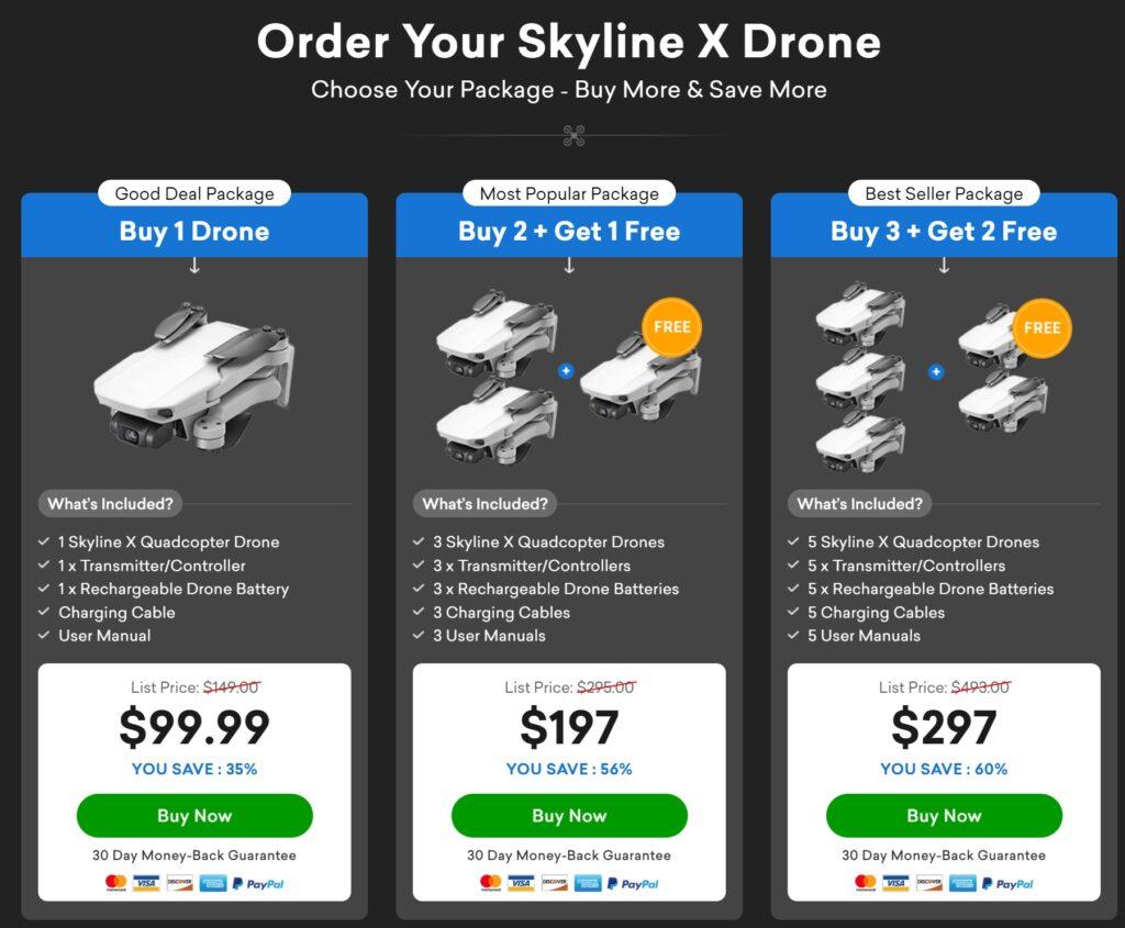 Skyline X Drone Buy Now